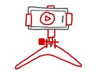 3D Druck Handystativ für die Medienproduktion